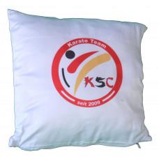 NEU: KSC Kissen mit weicher Füllung