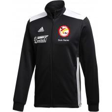 KSC adidas Trainingsjacke schwarz/grau