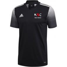 KSC adidas premium T-Shirt 2020 schwarz/weiß