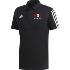 KSC adidas Polo schwarz
