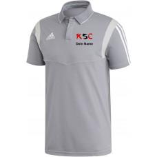 KSC adidas Polo grau