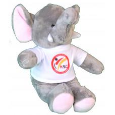 NEU: KSC Stofftier Elefant 22cm