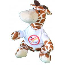 NEU: KSC Stofftier Giraffe 22cm