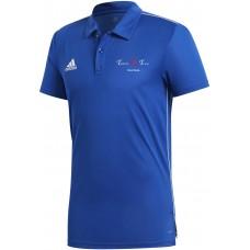 Teikyo Team Poloshirt Climalite blau