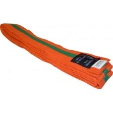 Actika Budo Gürtel orange/grün