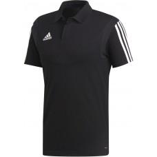 adidas Tiro 19 Cotton Polo schwarz-weiß