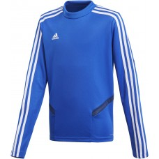 adidas Tiro 19 Training Top bold blue-dark blue-weiß