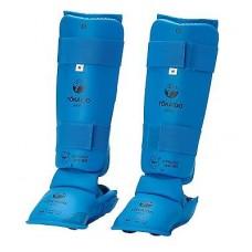 Tokaido Fuß/Schienbeinschutz WKF Zugelassen blau
